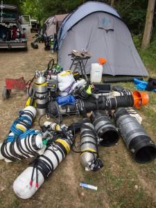 Ein Bruchteil der Ausrüstung
